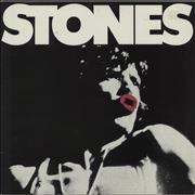 Click here for more info about 'Rolling Stones - Stones + Poster - EX'