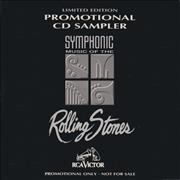 Click here for more info about 'Rolling Stones - Symphonic Music Of The Rolling Stones Promotional CD Sampler'