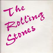 Click here for more info about 'The Rolling Stones - Purple Text'