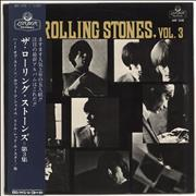 Rolling Stones The Rolling Stones, Vol. 3 - 1st + Obi Japan vinyl LP