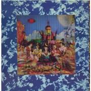 Rolling Stones Their Satanic Majesties Request - 1st (P matrix - itallics label) + Inner UK vinyl LP