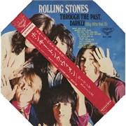 Rolling Stones Through The Past Darkly - Oct Sleeve + Obi Japan vinyl LP