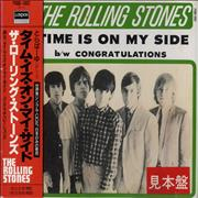 Click here for more info about 'Rolling Stones - Time Is On My Side + Obi'