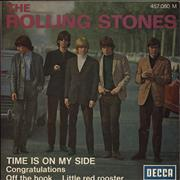 Click here for more info about 'Rolling Stones - Time Is On My Side - 12-70'