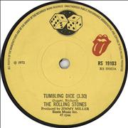 Click here for more info about 'Rolling Stones - Tumbling Dice - Solid'
