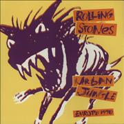 Click here for more info about 'Rolling Stones - Urban Jungle: Europe 1990 + Two Wembley Stubs'