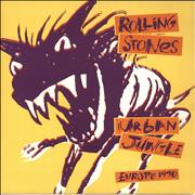 Click here for more info about 'Rolling Stones - Urban Jungle: Europe 1990 + 'Bud' insert'