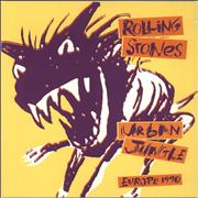 Click here for more info about 'Rolling Stones - Urban Jungle: Europe 1990 + 'Bud' insert & Ticket Stub'