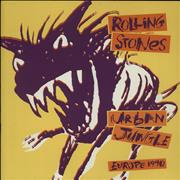 Click here for more info about 'Rolling Stones - Urban Jungle: Europe 1990 + Bud Beer Insert & Ticket Stub'