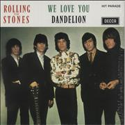 Click here for more info about 'We Love You/ Dandelion'
