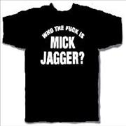 Click here for more info about 'Rolling Stones - Who The F...? T-Shirt - Large'