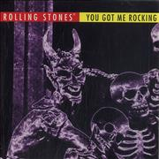 Click here for more info about 'Rolling Stones - You Got Me Rocking + Holographic Sticker'