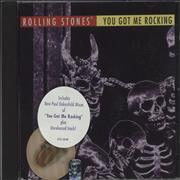 Click here for more info about 'Rolling Stones - You Got Me Rocking + Lenticular Sticker - sealed'