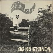 Click here for more info about 'Ron Geesin - As He Stands - EX'