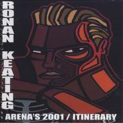 Click here for more info about 'Ronan Keating - Arena's 2001 - Tour Itinerary'