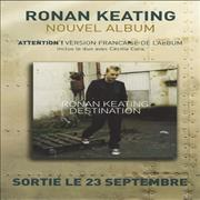 Click here for more info about 'Ronan Keating - Destination - Sampler Press Kit'