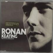 Click here for more info about 'Ronan Keating - When You Say Nothing At All'
