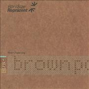 Click here for more info about 'Roni Size Reprazent - Brown Paper Bag'