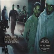 Click here for more info about 'Roni Size Reprazent - Who Told You'