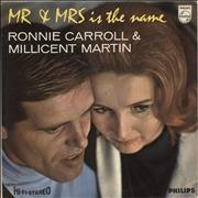 Click here for more info about 'Ronnie Carroll - Mr. & Mrs. Is The Name'