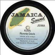 Click here for more info about 'Ronnie Davis - Kaya'