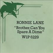 Click here for more info about 'Ronnie Lane - Brother, Can You Spare A Dime + Sleeve'