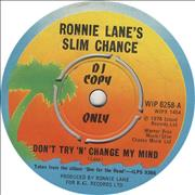 Click here for more info about 'Ronnie Lane - Don't Try 'N' Change My Mind'