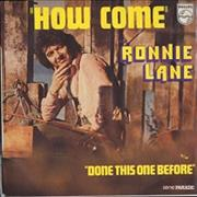 Click here for more info about 'Ronnie Lane - How Come'