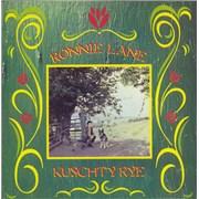 """Ronnie Lane Kuschty Rye UK 7"""" vinyl"""
