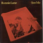 Click here for more info about 'Ronnie Lane - See Me + Insert'