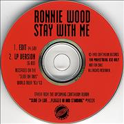 Click here for more info about 'Ronnie Wood - Stay With Me'