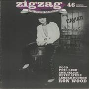 Click here for more info about 'Ronnie Wood - Zigzag No. 46'