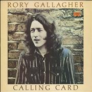 Click here for more info about 'Rory Gallagher - Calling Card - EX'