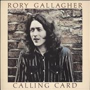 Click here for more info about 'Rory Gallagher - Calling Card'