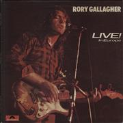 Click here for more info about 'Rory Gallagher - Live! In Europe - Matte'