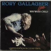 Click here for more info about 'Rory Gallagher - Wayward Child - Clear Vinyl'