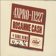 Click here for more info about 'Rosanne Cash - 4 Song Demo'