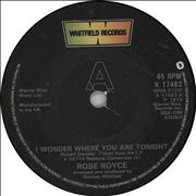 Click here for more info about 'Rose Royce - I Wonder Where You Are Tonight'