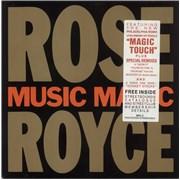 Rose Royce Music Magic UK vinyl LP