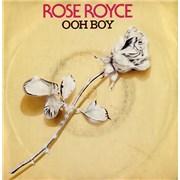 """Rose Royce Ooh Boy UK 7"""" vinyl"""