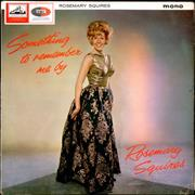 Click here for more info about 'Rosemary Squires - Something To Remember Me By - EX'