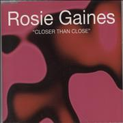 Click here for more info about 'Rosie Gaines - Closer Than Close'