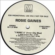 Click here for more info about 'Rosie Gaines - I Want U'