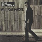 Click here for more info about 'Ross Copperman - All She Wrote'