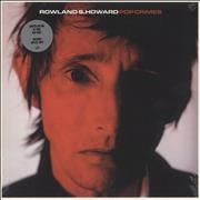 Click here for more info about 'Rowland S. Howard - Pop Crimes - Red Vinyl'