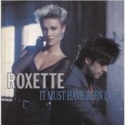 """Roxette It Must Have Been Love UK 12"""" vinyl"""
