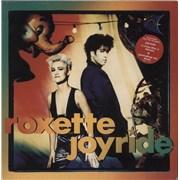 Roxette Joyride - Stickered UK vinyl LP