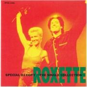 Roxette Special DJ Copy The Single Collection Japan CD album Promo
