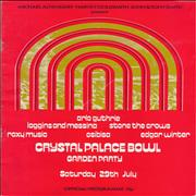 Click here for more info about 'Roxy Music - Crystal Palace Bowl Garden Party IV + Ticket Stub'