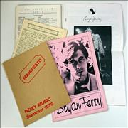 Click here for more info about 'Roxy Music - Fan Pack'